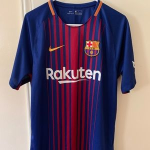 Authentic 2017 Nike Barcelona Lionel Messi Jersey